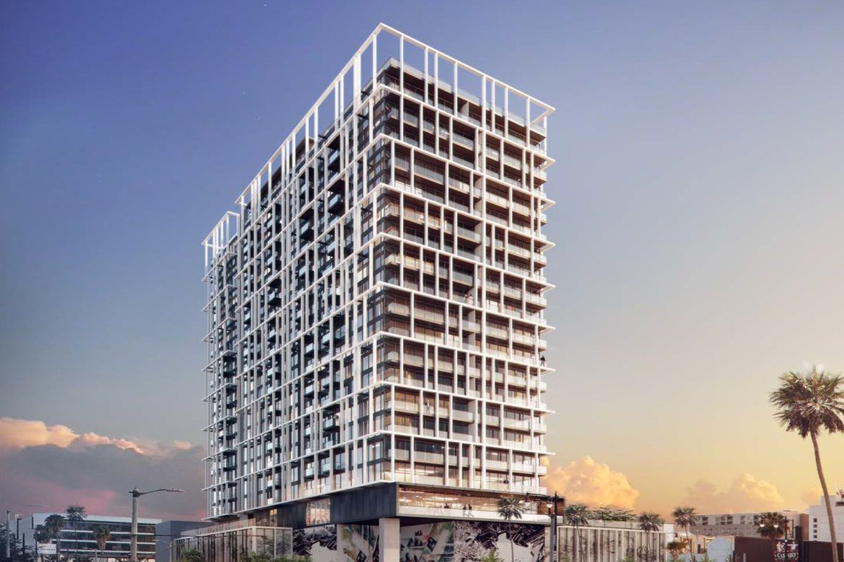 See The 22 Story Hollywood Apartment Tower Set To Rise Next