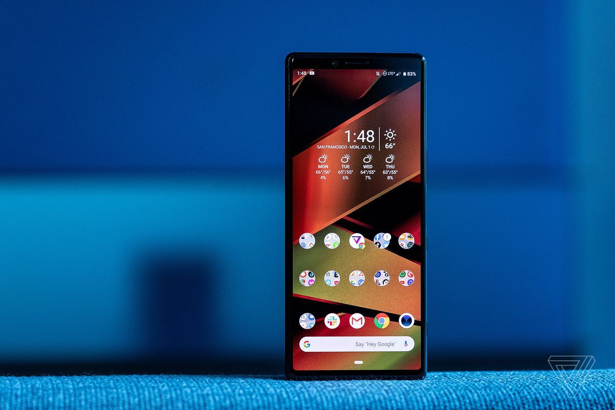 Sony may announce the Xperia 2 at IFA 2019 - The Verge