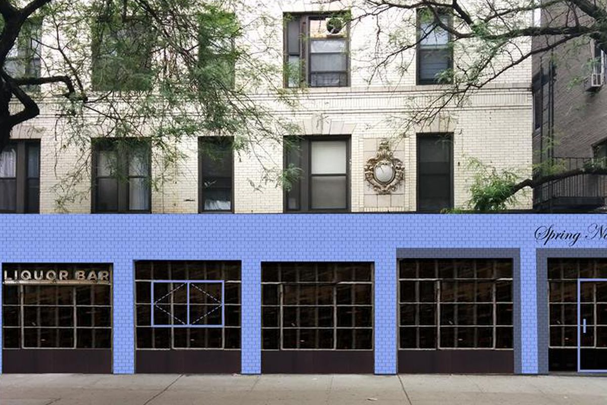 [A rendering of Spring Street Natural's new location on Kenmare]