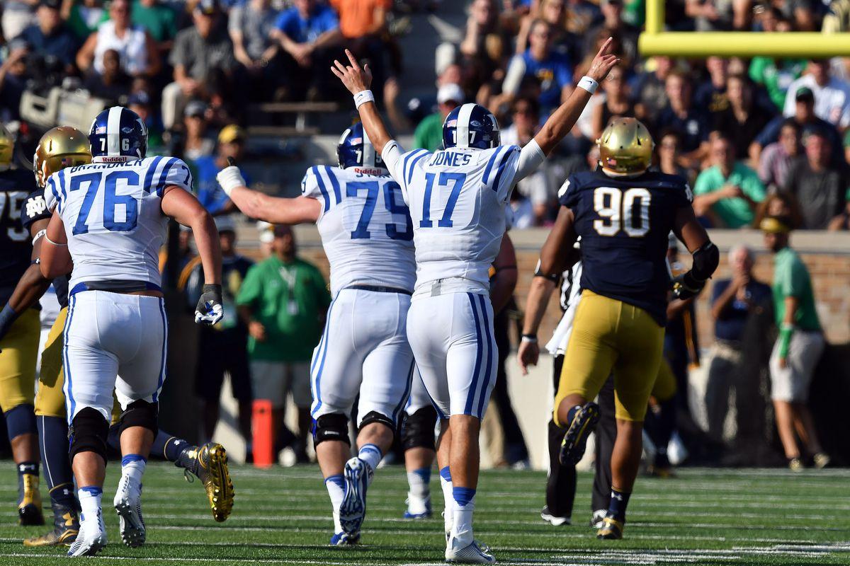 NCAA Football: Duke at Notre Dame