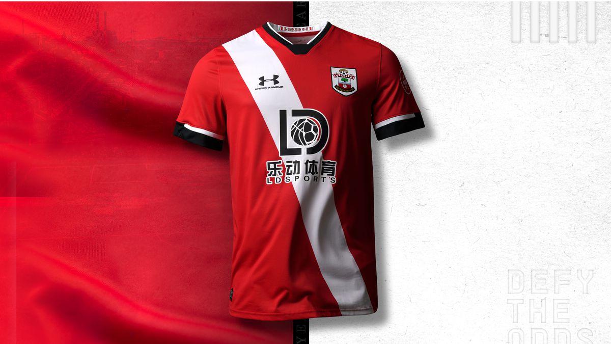 Southampton 2020/21 home shirt new kit