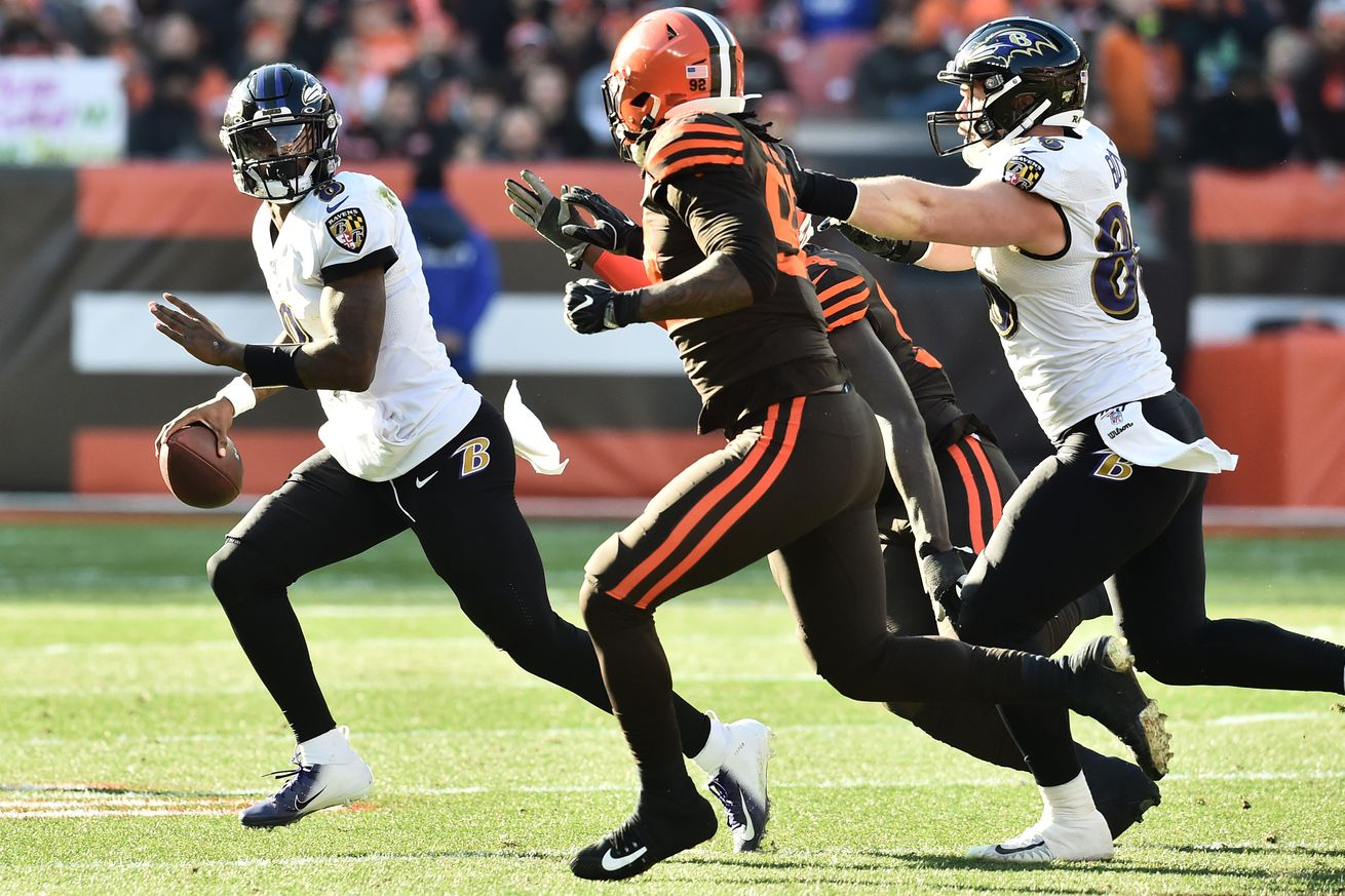 usa today 13827929.0 - Lamar Jackson taught the Browns there's no formula that can stop him