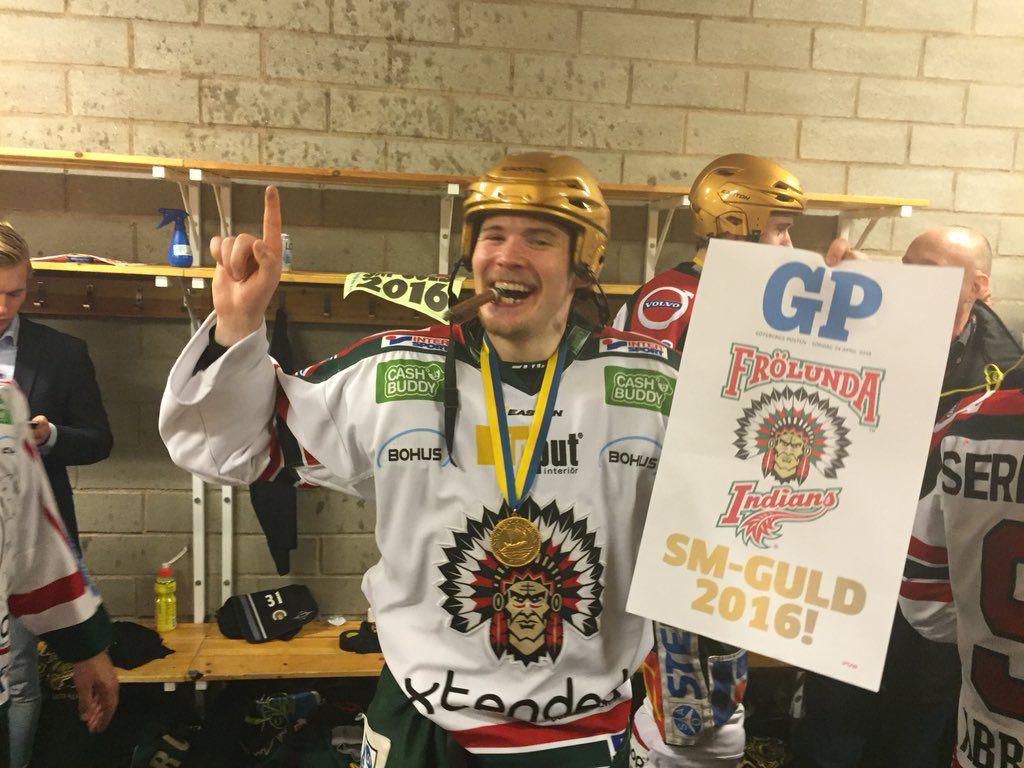 (Johan Rylander) Artturi Lehkonen Frolunda HC SHL championship