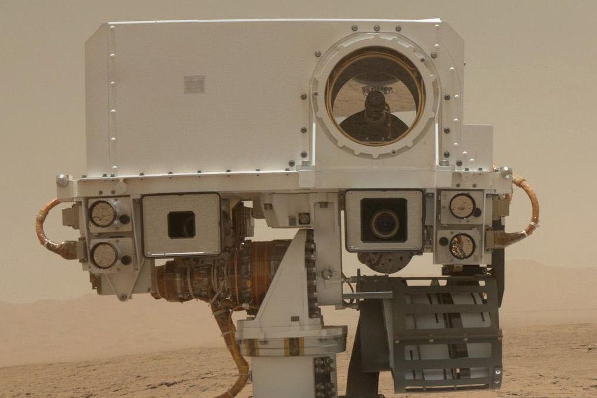 mars rover laser camera - photo #24