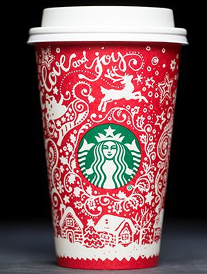 Starbucks Christmas Cups.The Controversial History Of The Annual Starbucks Holiday
