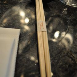 Chopsticks at Tetsu.