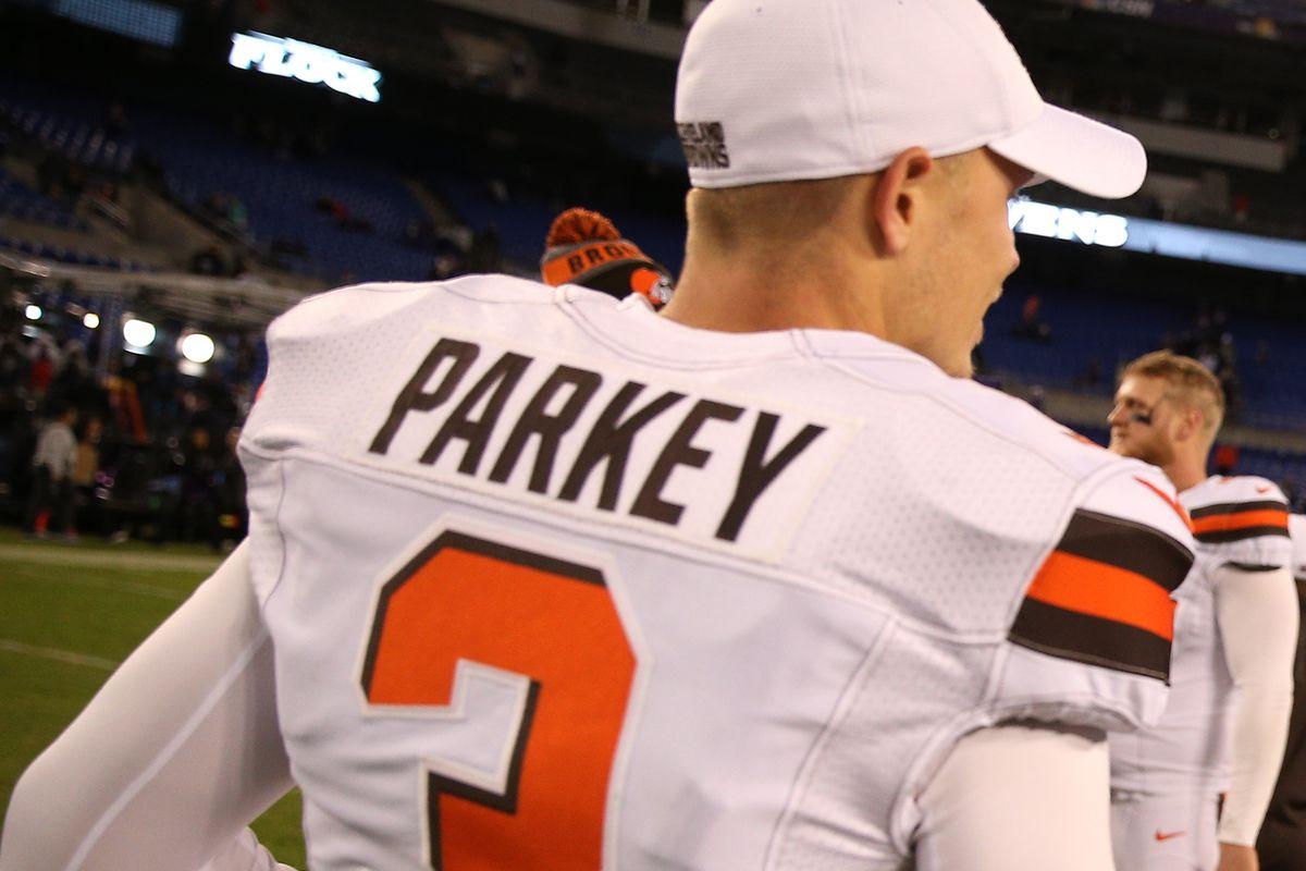 online store eddc5 56255 Report: Rookie Zane Gonzalez wins Browns kicking job, Cody ...