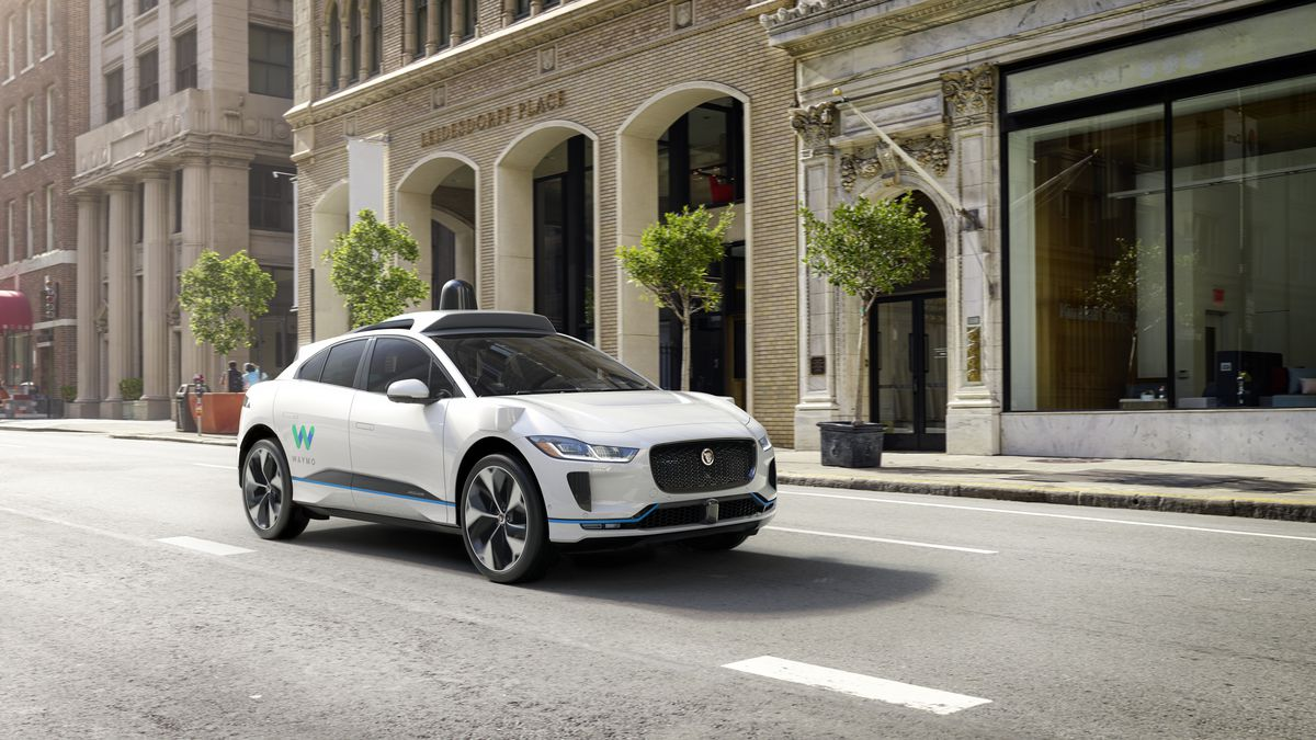 Waymo And Jaguar Will Build Up To 20 000 Self Driving Electric Suvs The Verge