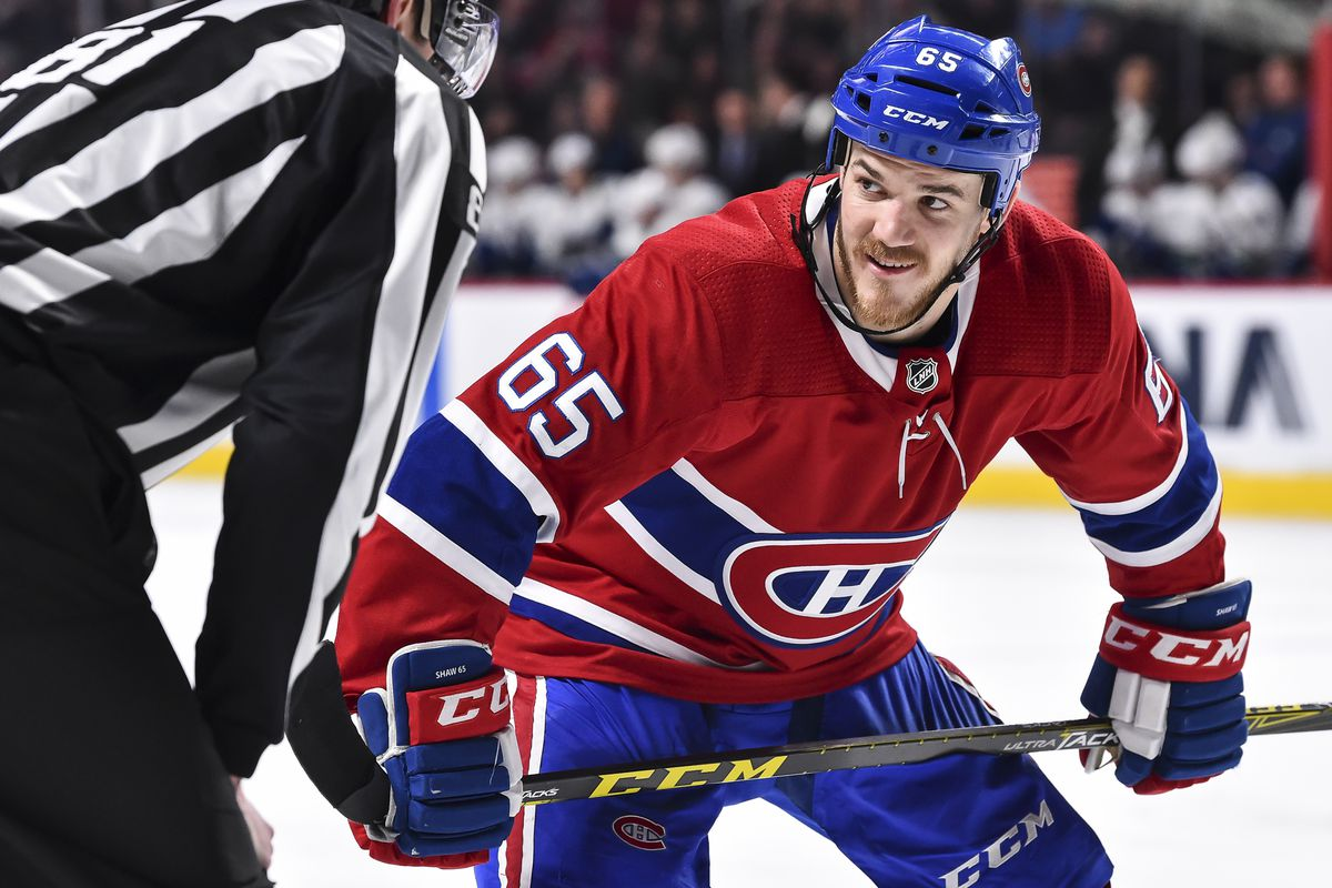 Andrew Shaw is a prime candidate for inclusion in an impact trade
