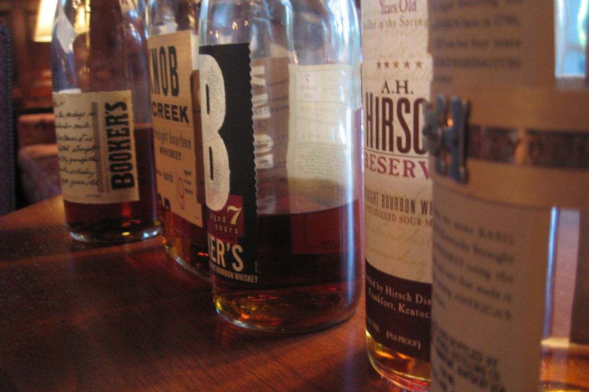Mmm ... bourbon