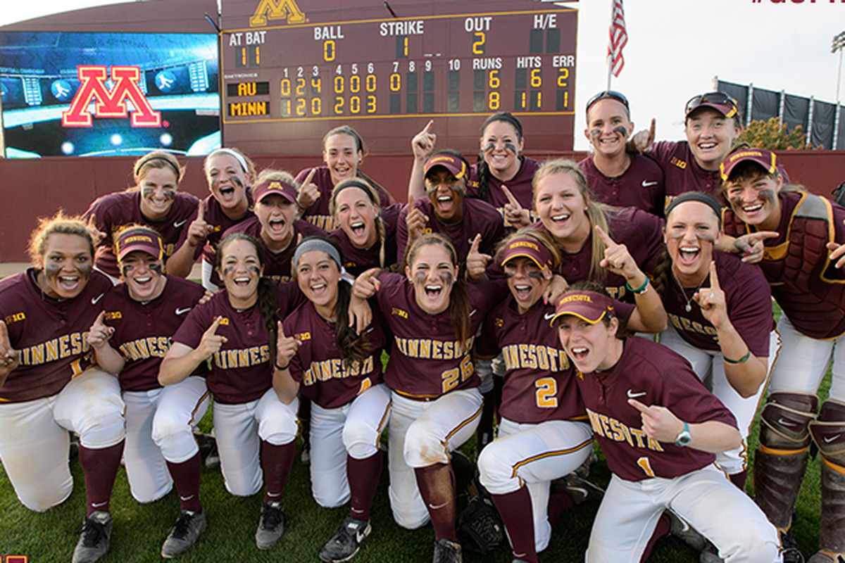 The Gophers are the Minneapolis Regional Champs!