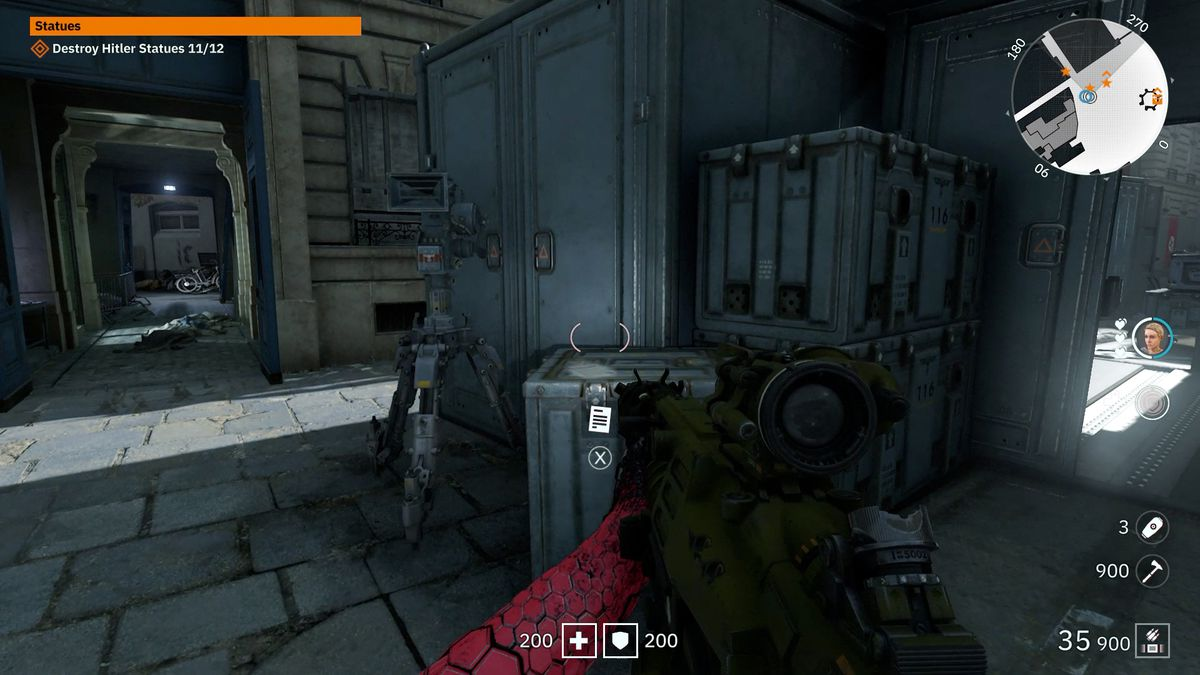 Wolfenstein: Youngblood Readable 41 collectibleMilitary Ordnance List