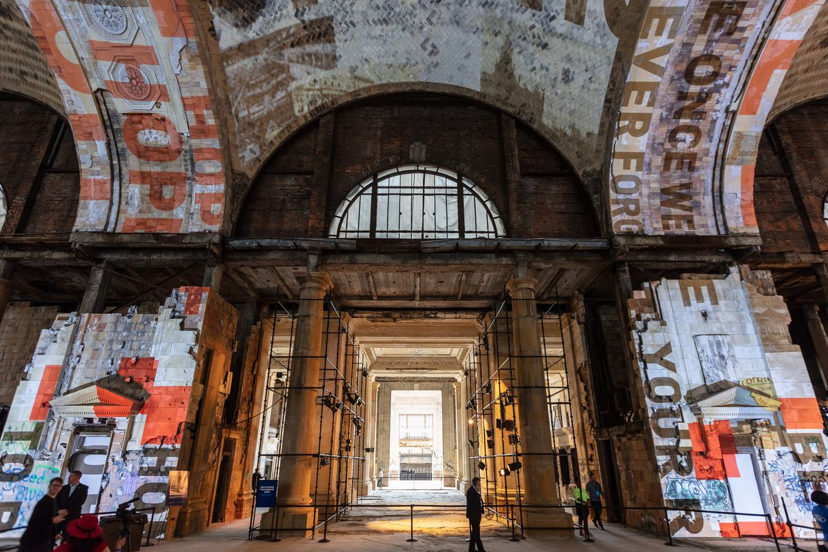 You Can Tour Michigan Central Station This Weekend Updated Curbed Detroit