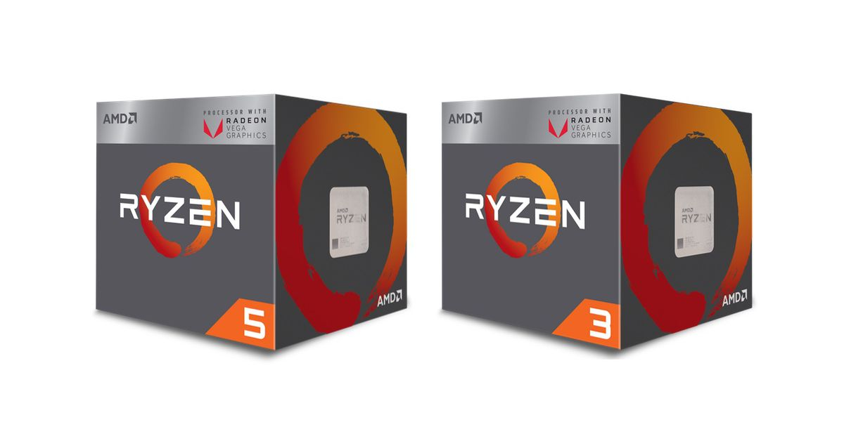 photo image AMD's new Ryzen desktop processors pack built-in Radeon graphics