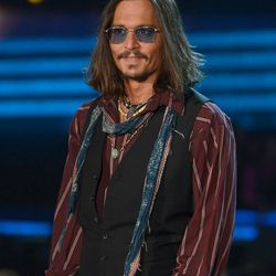 Pirate is just Johnny Depp's go-to look these days.