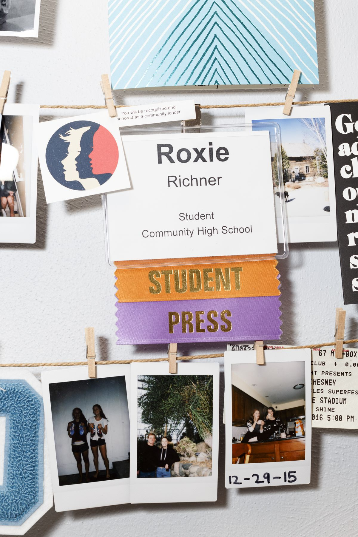 Richner is active in her school's student publication.
