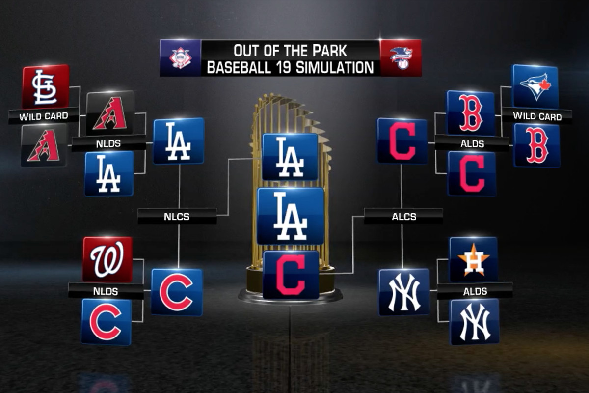 Mlbs Stat Crunchingest Video Game Predicts A World Series