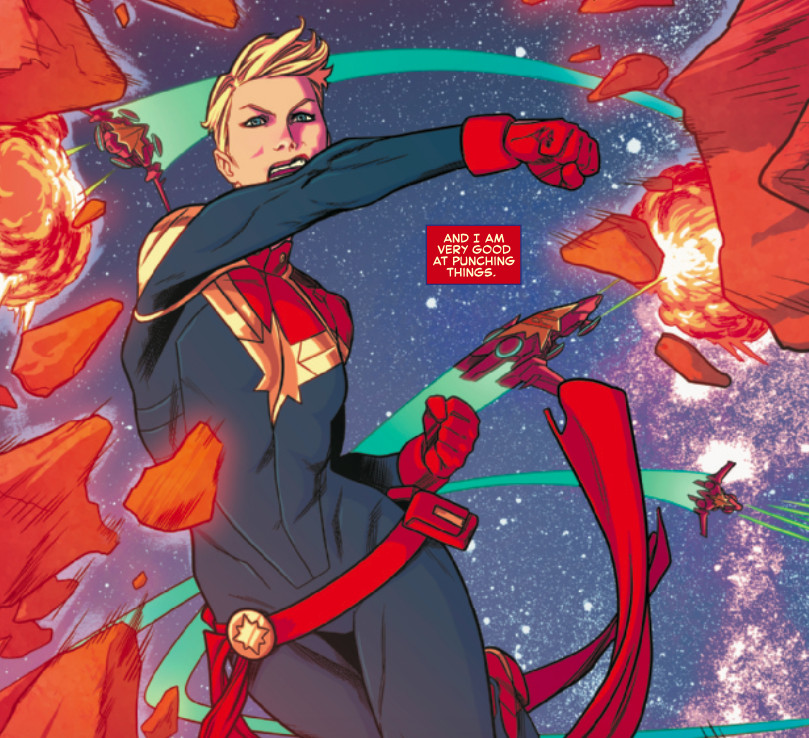 Avengers Infinity War Sets Up Captain Marvel And The Future Of The