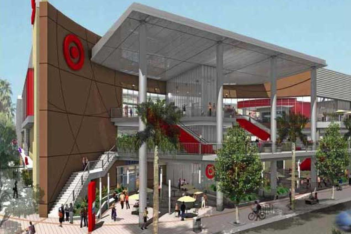 """Rendering <a href=""""http://la.curbed.com/archives/2010/06/heres_what_your_hollywood_target_would_look_like.php#hollywood-target-1"""">via</a>"""