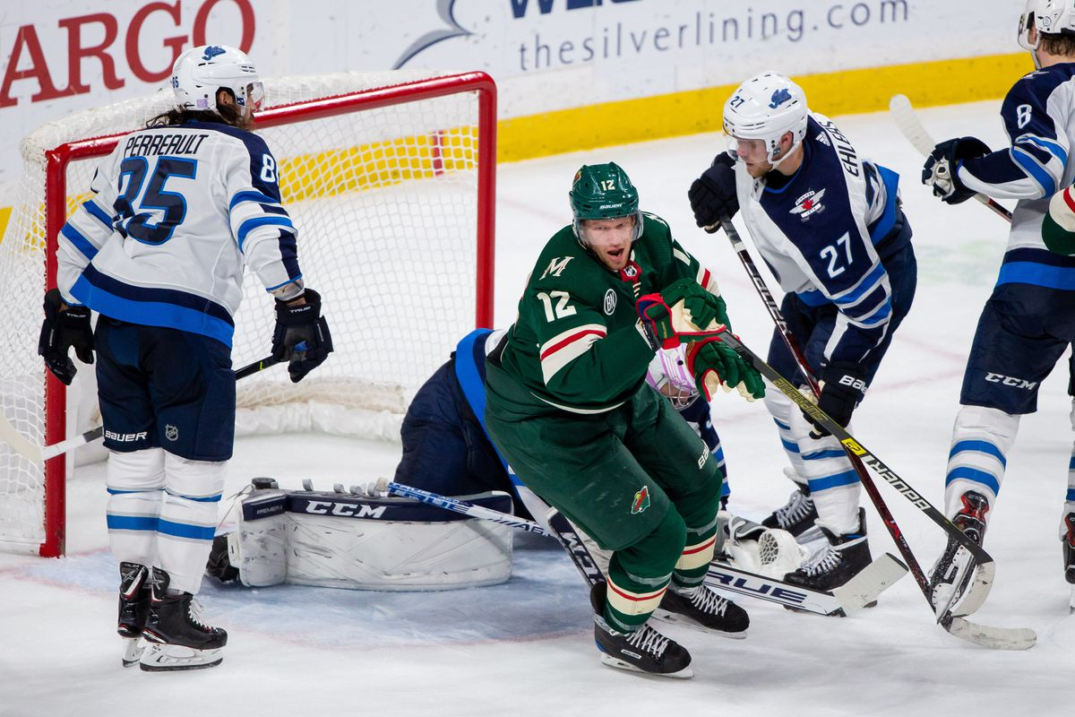 check out 8c63c 7234d The Minnesota Wild square off against the red hot Winnipeg ...