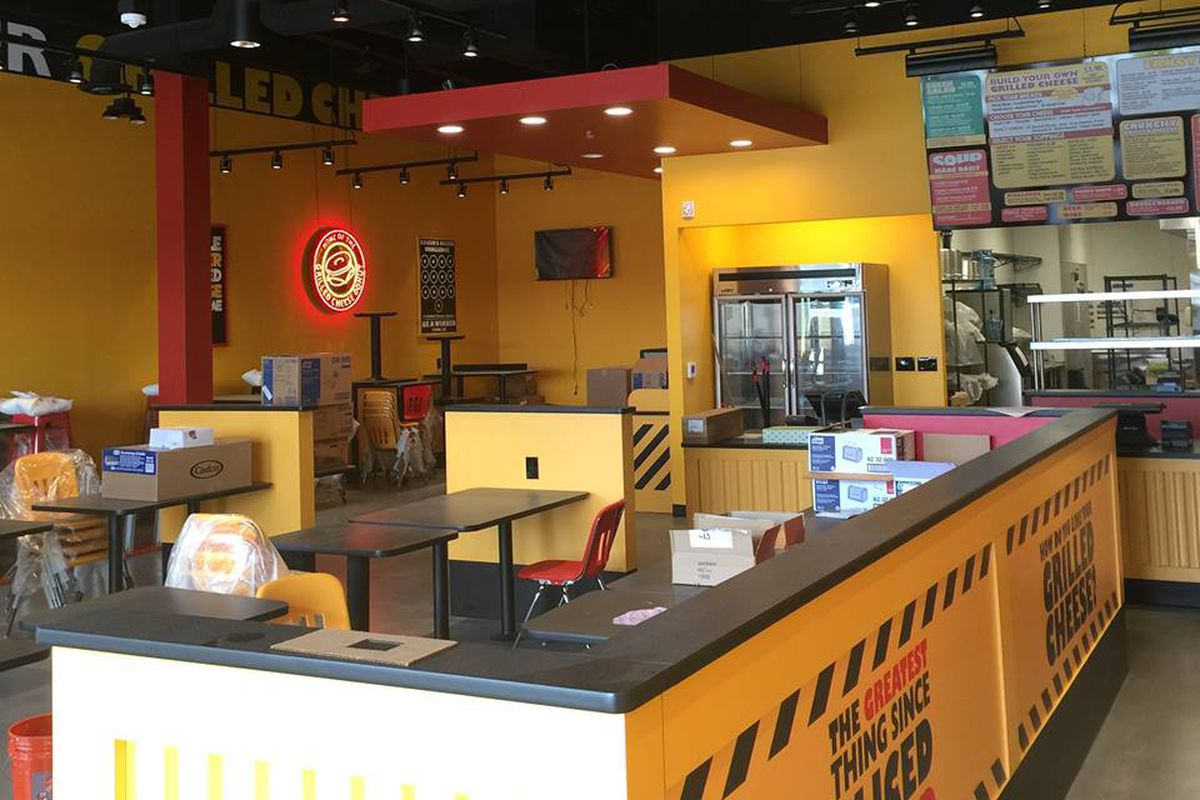 Tom+Chee's Northville location.