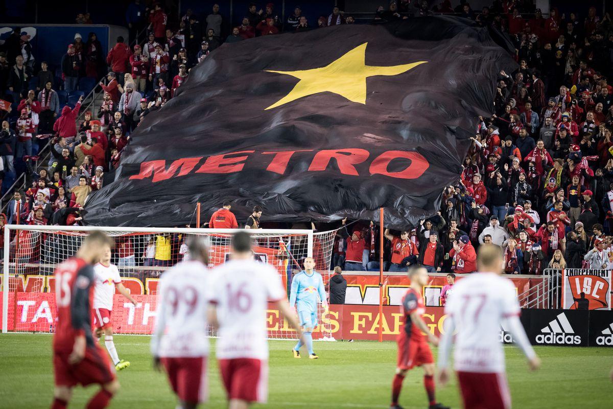 Audi MLS Cup Playoff match New York Red Bulls v Toronto FC