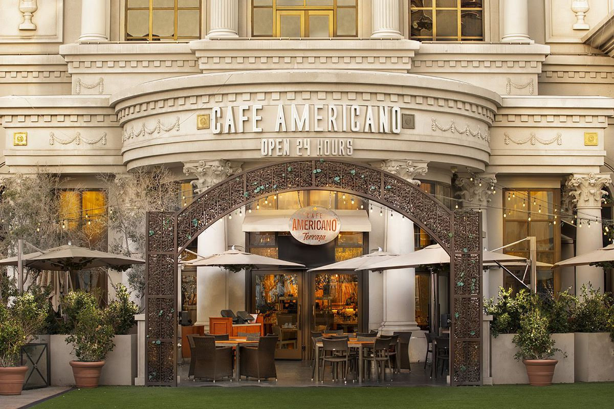 Terraza By Café Americano Opens A New Patio On The Strip