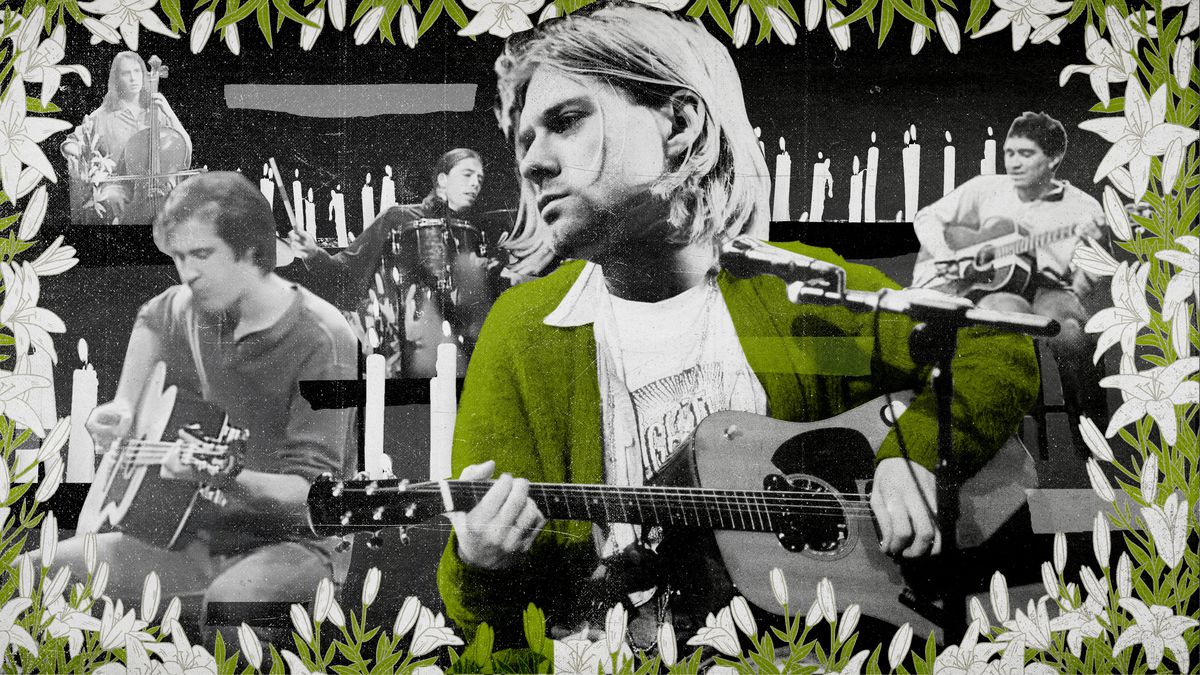 b5ccea10f7 Three Feet From God  An Oral History of Nirvana  Unplugged  - The Ringer