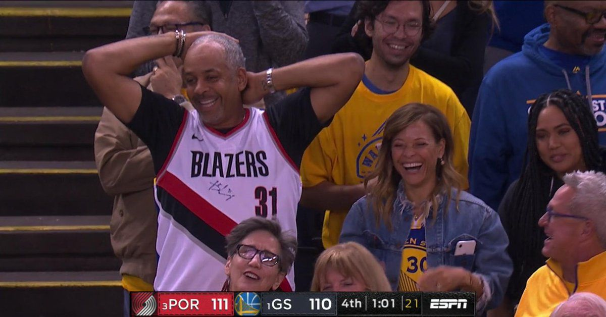 The Curry family is stealing the show during the West Finals