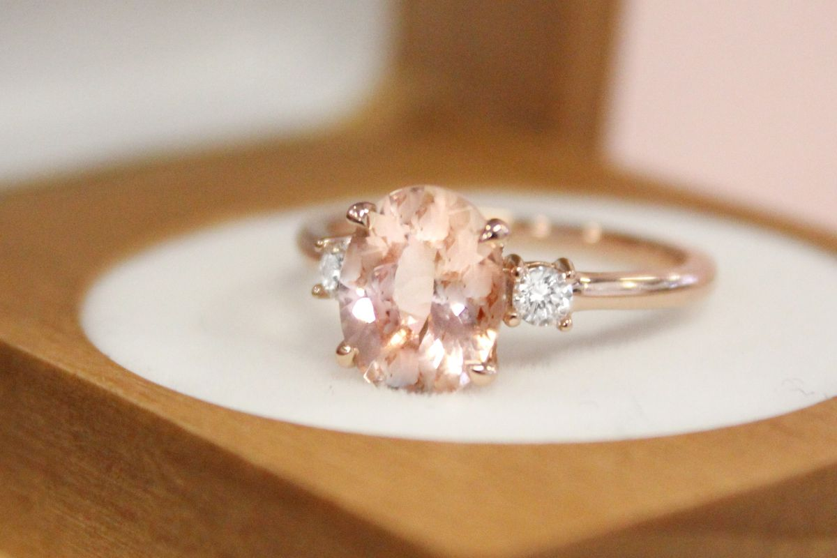 3561baf3d6cea What is morganite? The new diamond alternative engagement ring trend ...
