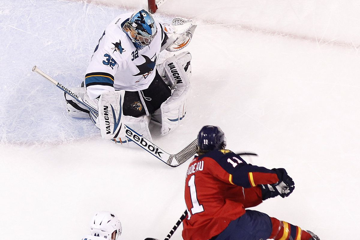 Alex Stalock posted the first shutout of his career last night against the Panthers.