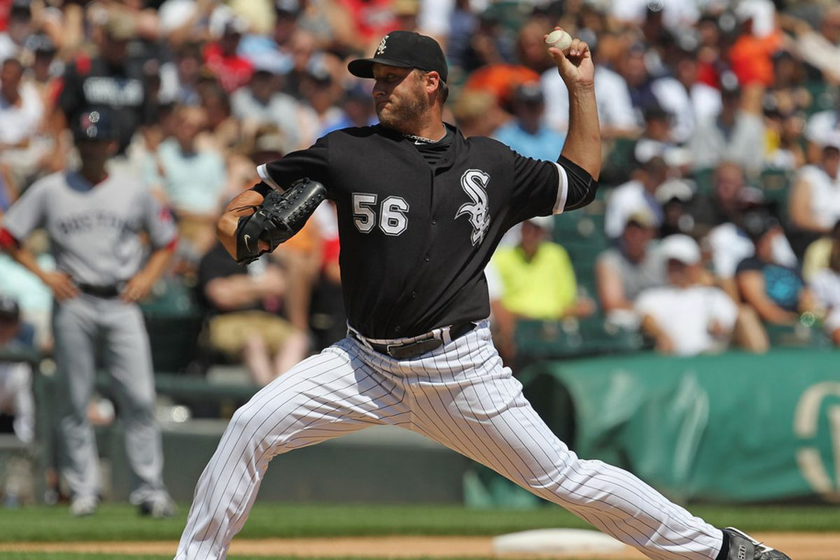 If Buehrle does become immortal, he'll likely do so as a South Sider.