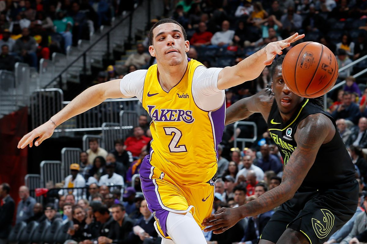 6430ba6d266 Lakers Injury News  Lonzo Ball has torn meniscus in left knee ...