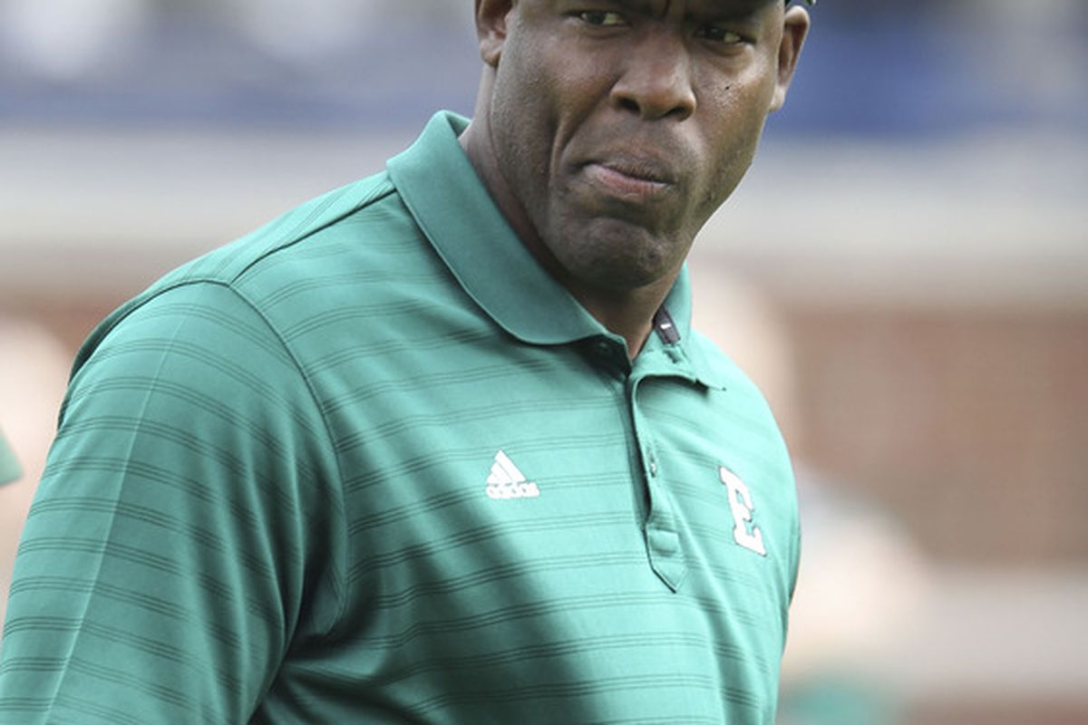 """Ron English has to be the next coach to move up, because who wears a hat with an """"E"""" on it?"""