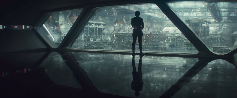 Kylo Ren in the trailer for Star Wars: The Last Jedi