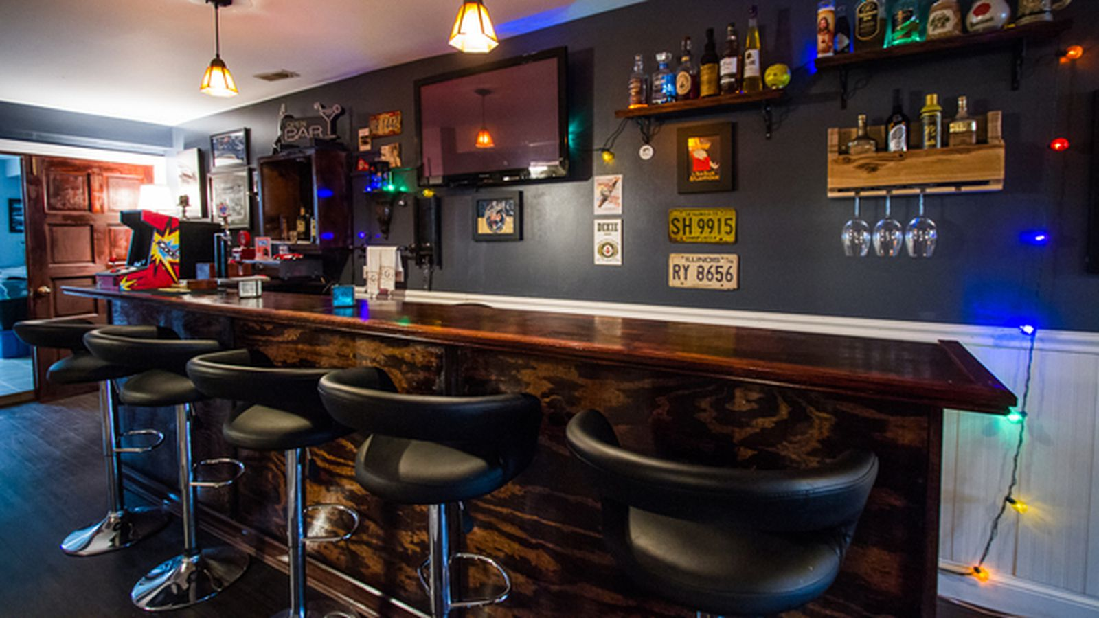 Logan Square House With Serious Basement Bar Asks 750k