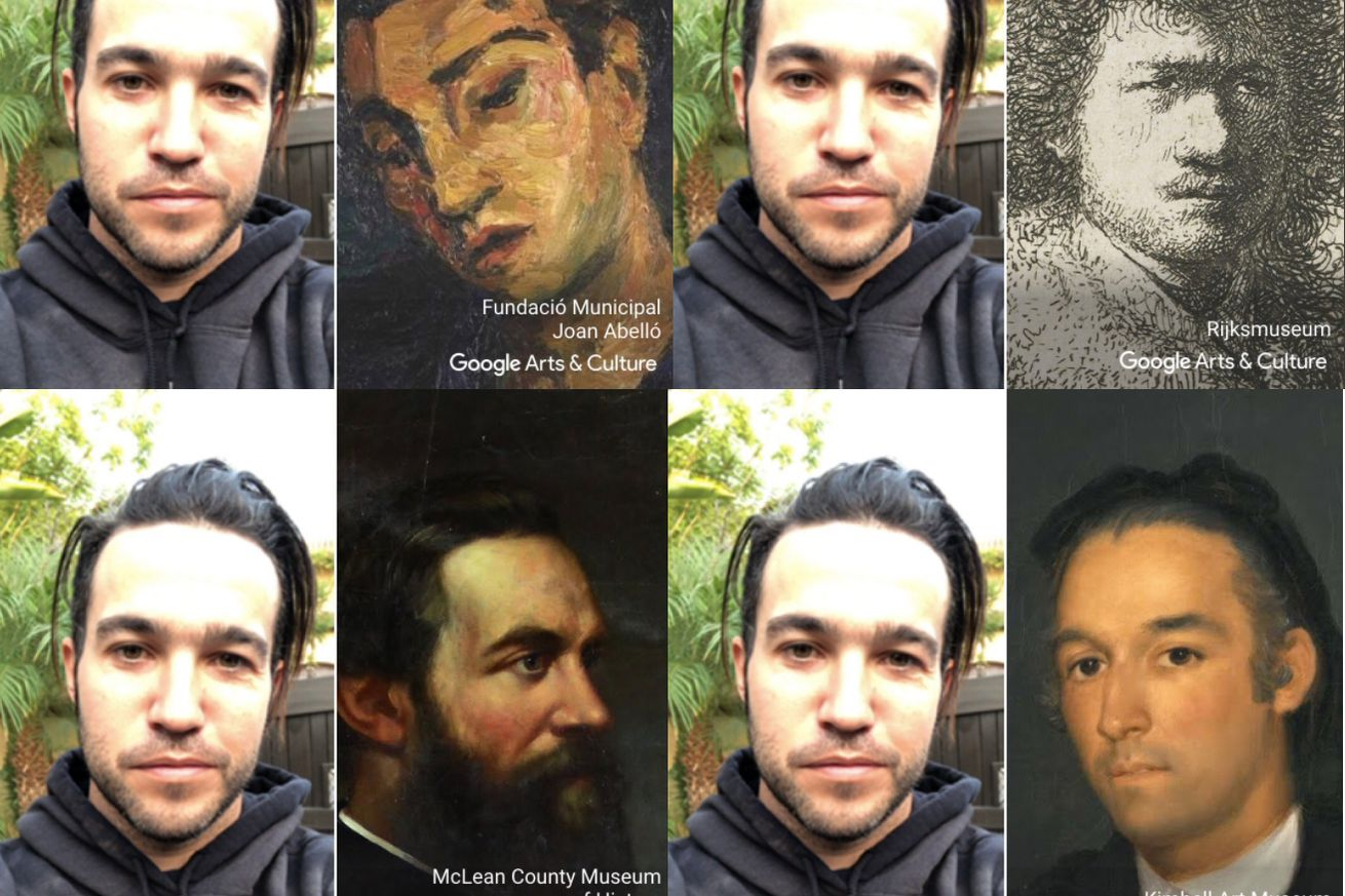google s arts culture app is now top of the download charts thanks to its selfie matching skills