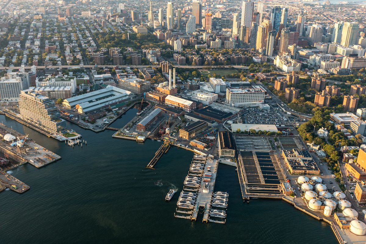 An overview of the Brooklyn Navy Yard