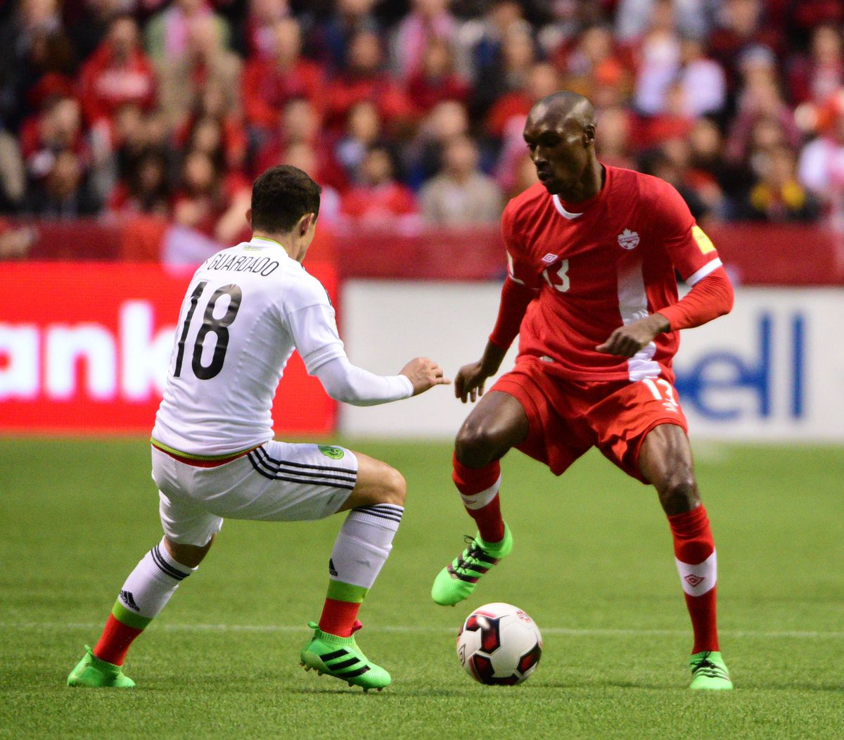 Soccer: 2018 FIFA WORLD CUP QUALIFIER-Mexico at Canada