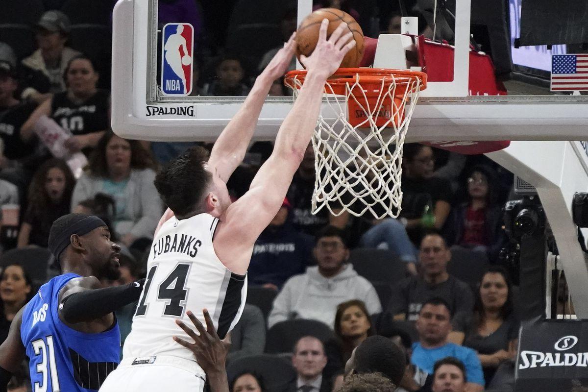 NBA: Orlando Magic at San Antonio Spurs