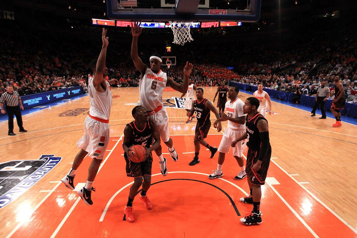 Melo's defensive presence is Fab.
