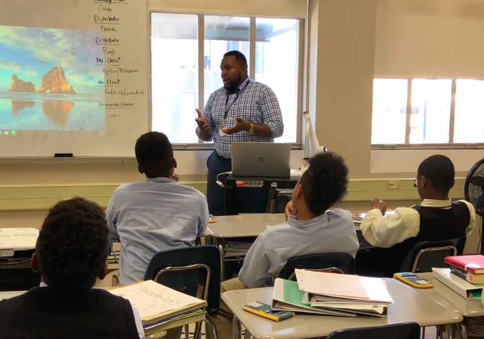 Teacher Tim Green travels to several schools to teach students how to express their emotions in a healthy way.
