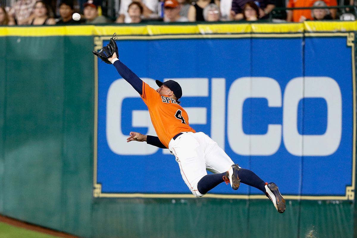George Springer should be your choice for the 2016 AL Final Vote.  Why?  Read on.