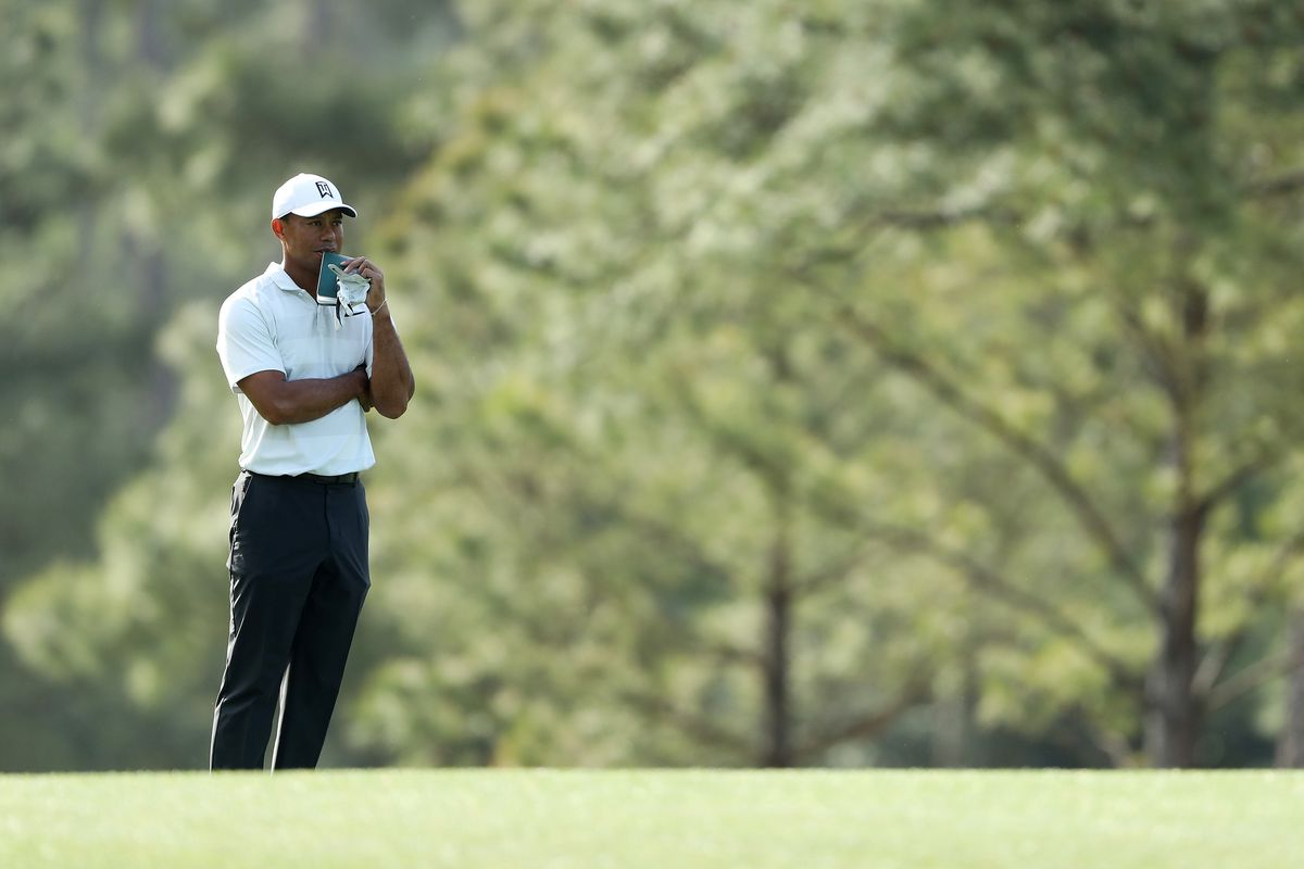 For Tiger Woods, a good round at Masters is even par