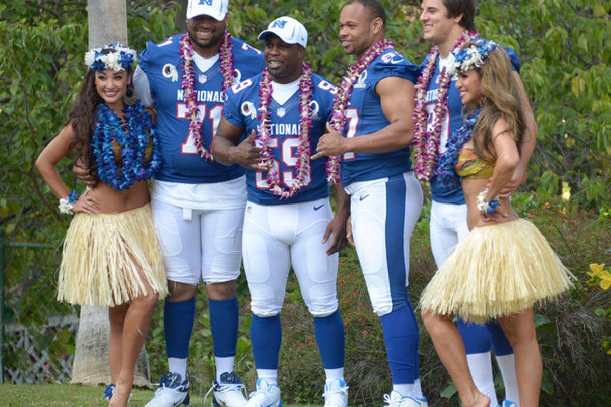 Redskins 2013 Pro Bowl team