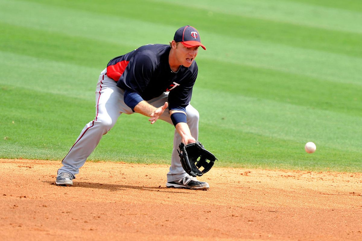 Luke Hughes--he's so hot right now. He's 12 for 27 in his past ten games, and leads all Twins in spring training with 15 RBIs.