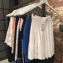 Jonathan Simkhai Harwood Floral Skirt ($253.50)
