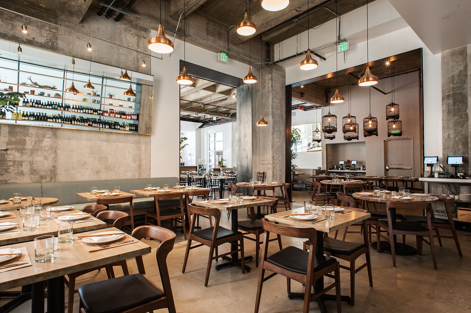 Los angeles restaurants with the most stunning design for Restaurant design london