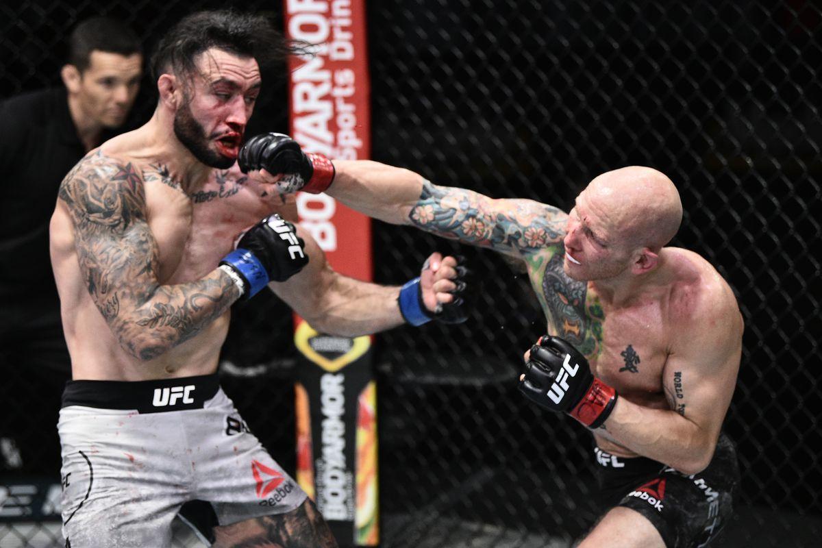 UFC on ESPN 11 results: Josh Emmett wins absolute war with Shane ...