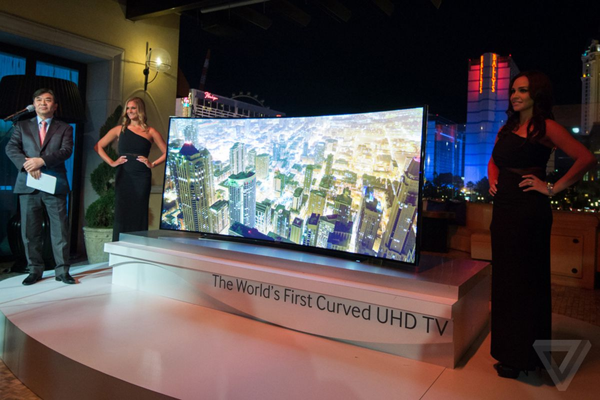 Samsung Reveals A Wild Bendable Tv Prototype And Its